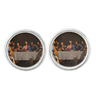 The Last Supper with Disciples Cufflinks
