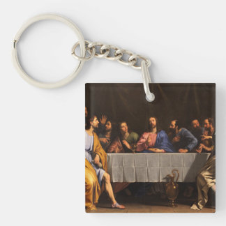The Last Supper with Disciples Keychain