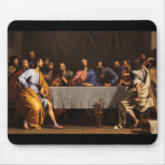 The Last Supper with Disciples Mouse Pad