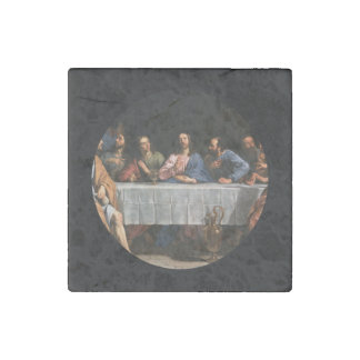 The Last Supper with Disciples Stone Magnet