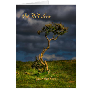 The Last Survivor - Get Well Soon Card