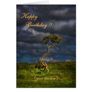 The Last Survivor - Happy Birthday Card
