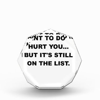 THE LAST THING I WANT TO DO IS HURT YOU.png Award