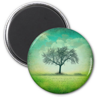 The Last Tree Standard, 2¼ Inch Round Magnet
