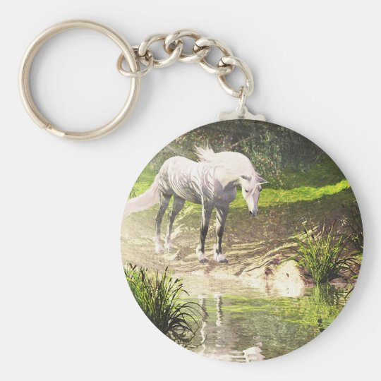 The Last Unicorn Keychain