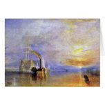 "The Last Voyage Of The Fighting Temeraire """" "" By Greeting Card"