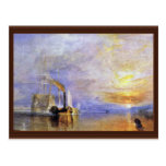 """The Last Voyage Of The Fighting Temeraire """""""" """" By Post Cards"""