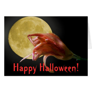 The Last Waltz,  Happy Halloween! Card