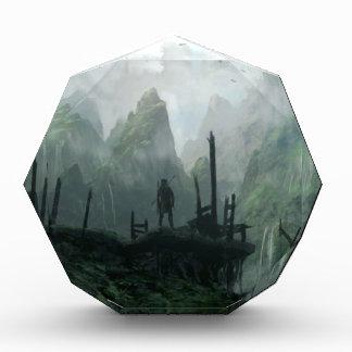 The Last Warrior of The Mountain Clan Acrylic Award