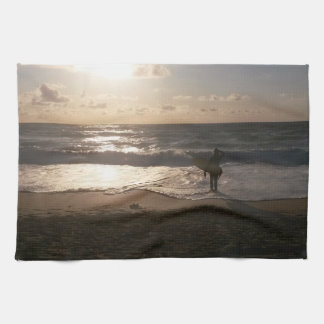 The Last Wave Surfer Hand Towel