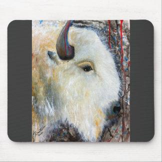 The last white Buffalo Mouse Pad