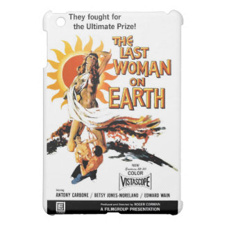 """The Last Woman On Earth"" iPad Case"