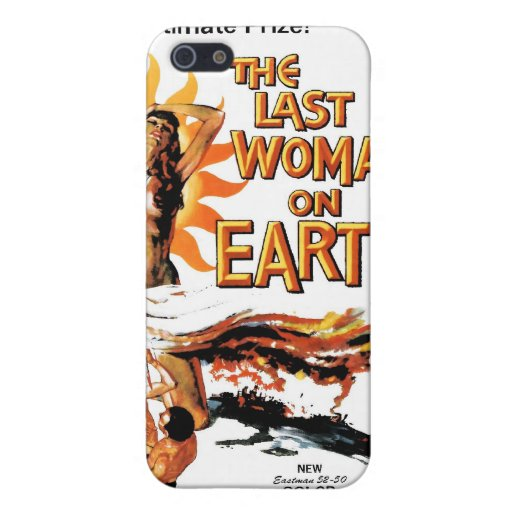 """""""The Last Woman On Earth"""" iPhone Case iPhone 5 Case"""