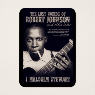 The Last Words of Robert Johnson Promotional Card