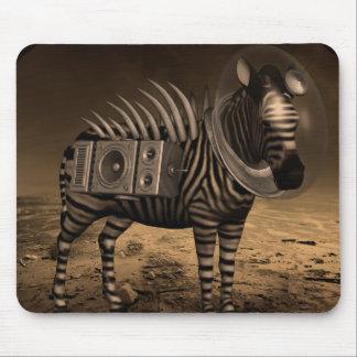 The Last Zebra - Mousepad