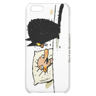 The Late Breakfast iPhone 4G iPhone 5C Cases