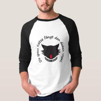 The late cat Raglan 3/4-poor T-Shirt