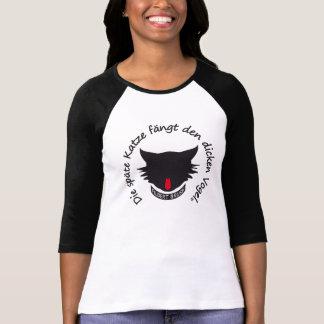 The late cat Raglan, 3/4-poor (tailliert) T-Shirt