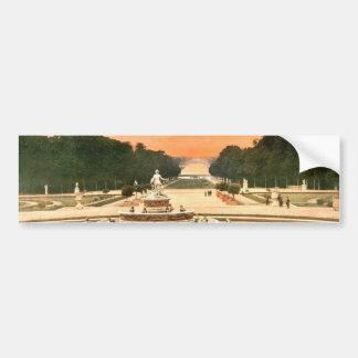 The Latone Basin, I, Versailles, France vintage Ph Car Bumper Sticker
