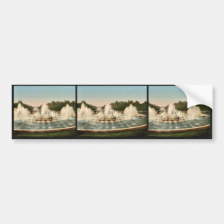 The Latone Basin, II, Versailles, France vintage P Car Bumper Sticker