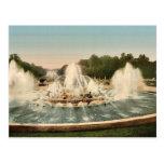 The Latone Basin, II, Versailles, France vintage P Post Card