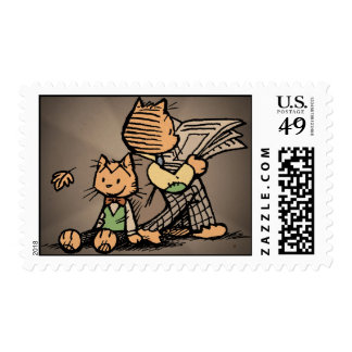 The Laugh-Out-Loud Cats Postage