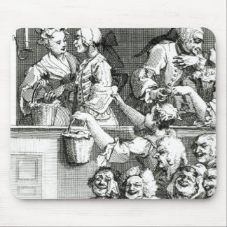 The Laughing Audience, 1733 Mouse Pad