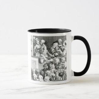 The Laughing Audience, 1733 Mug