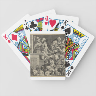 The Laughing Audience by William Hogarth Bicycle Playing Cards
