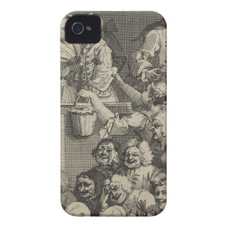 The Laughing Audience by William Hogarth iPhone 4 Case