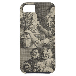 The Laughing Audience by William Hogarth iPhone SE/5/5s Case