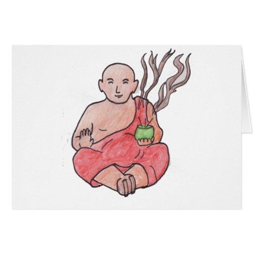 The Laughing Buddha Greeting Card