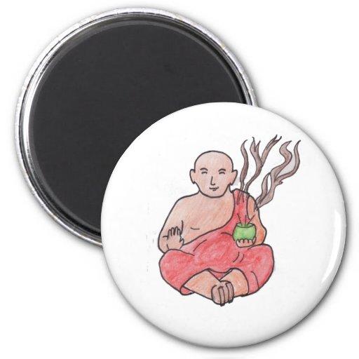 The Laughing Buddha Fridge Magnet