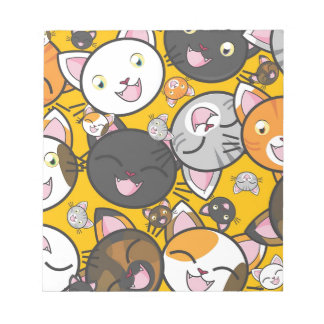 The laughing cats notepad