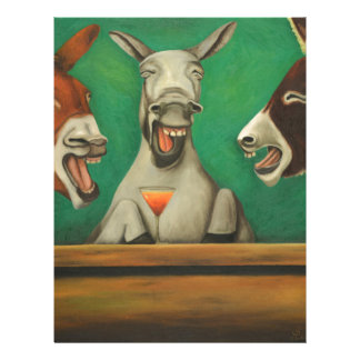 The Laughing Donkeys Letterhead