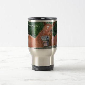 The Laughing Horse 15 Oz Stainless Steel Travel Mug