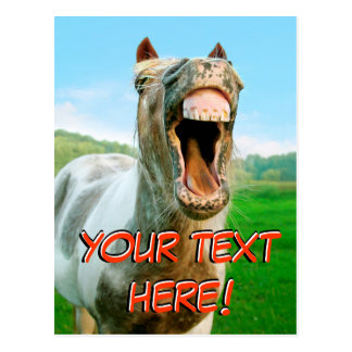 The laughing horse post cards