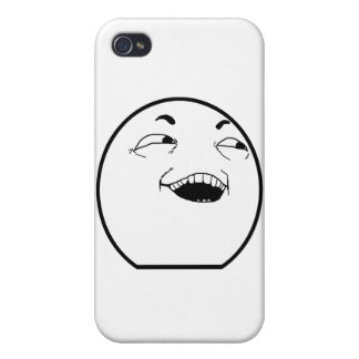 The Laughing Man Case Cases For iPhone 4