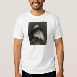 The Laughing Philosopher Poet Walt Whitman T-shirts