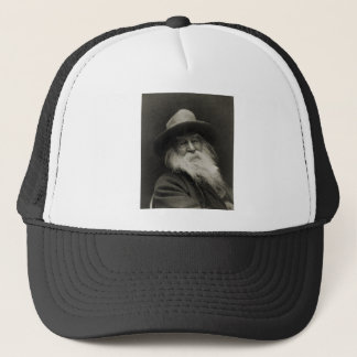 The Laughing Philosopher Poet Walt Whitman Trucker Hat