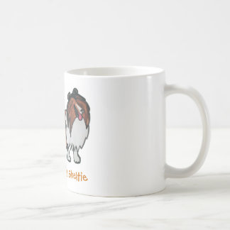 The Laughing Sable Sheltie Coffee Mugs