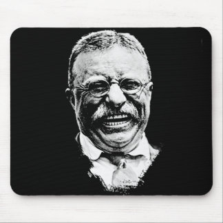 The Laughing Teddy Mouse Pad