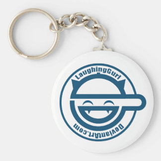 The LaughingGurl Keychain