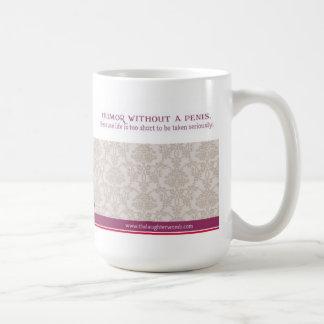 The Laughter Womb 15 oz mug