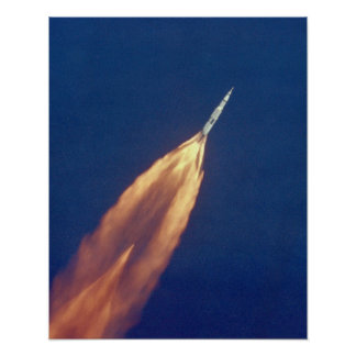 The Launch of Apollo 11 Poster