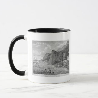 The Launch of the North West America at Nootka Sou Mug