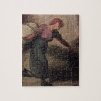 The Laundress, 1894 (oil on canvas) Jigsaw Puzzle
