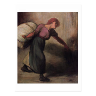 The Laundress, 1894 (oil on canvas) Postcard