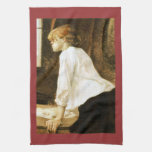 The Laundress by Toulouse-Lautrec Hand Towel