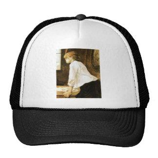 The Laundress by Toulouse-Lautrec Mesh Hat